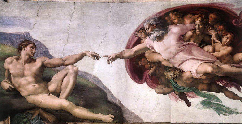El hombre al igual que Dios: Un Ser Creador