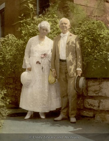 Charles Fillmore y Myrtle de Fillmore en 1925